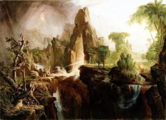 http://en.wikipedia.org/wiki/File:Cole_Thomas_Expulsion_from_the_Garden_of_Eden_1828.jpg