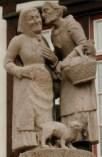 http://en.wikipedia.org/wiki/File:Germany_Singelfingen_Gossips.jpg