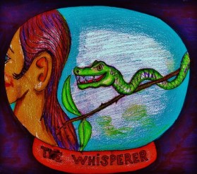 Eve & the Whispering Serpent - wwwsignsofheaven - Share-Alike License