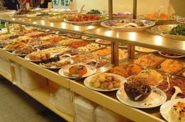 http://commons.wikimedia.org/wiki/File:Vegie_buffet.jpg