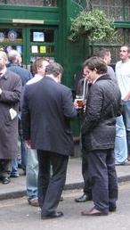 http://commons.wikimedia.org/wiki/File:Lunch_Break_-_geograph.org.uk_-_1124457.jpg
