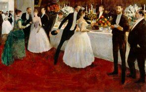 Forain - the buffet wikimedia US public domain