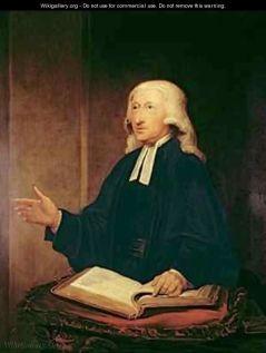 Hamilton Portrait of John Wesley-1703-1791 www.wikigallery.org