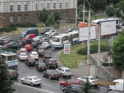 http://commons.wikimedia.org/wiki/File:Chisinau_traffic_congestion.jpg