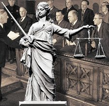 http://commons.wikimedia.org/wiki/File:Lady-justice-jury.jpg