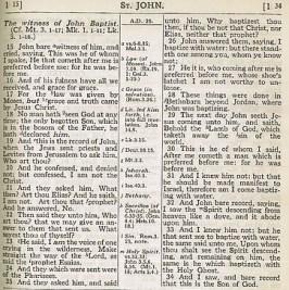 Scofield Bible - center-column references - Wikipedia - US Public Domain