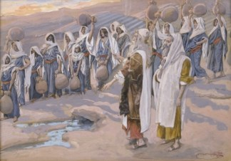 http://commons.wikimedia.org/wiki/File:Tissot_Moses_Smites_the_Rock_in_the_Desert.jpg