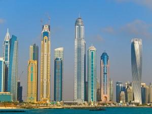 http://commons.wikimedia.org/wiki/File:Dubai_Marina_2013.jpg