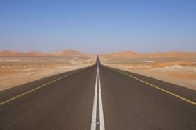 http://commons.wikimedia.org/wiki/File:Desert_road_UAE.JPG