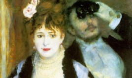 http://commons.wikimedia.org/wiki/File:Pierre-Auguste_Renoir,_La_loge_(The_Theater_Box).jpg