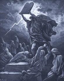 fixed - Dore - Moses breaks stones - Wikimedia - US Public Domain