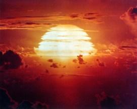 Redwing Apache Nuclear Bomb - Wikimedia - Public Domain