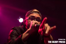 Photography by: Stephanie Tran   The Heavy Press   February 7th, 2014   Sound Academy, Toronto   Do not crop or modify these images