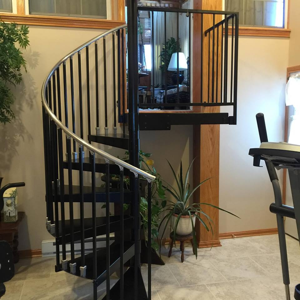 Spiral Staircases Heck S Metal Works | Outdoor Spiral Staircase Near Me | Staircase Ideas | Staircase Kits | Balcony Railing | Oak70 Xtra | Wrought Iron