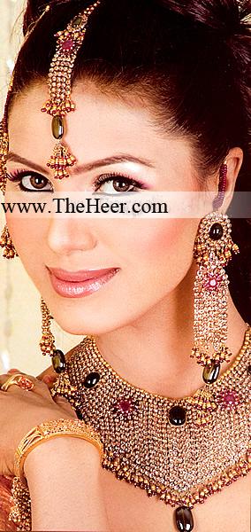 BJ082 Silver Jewellery Pakistani Fashion Jewelry Pakistani Bridal Jewlry Pakistani Wedding