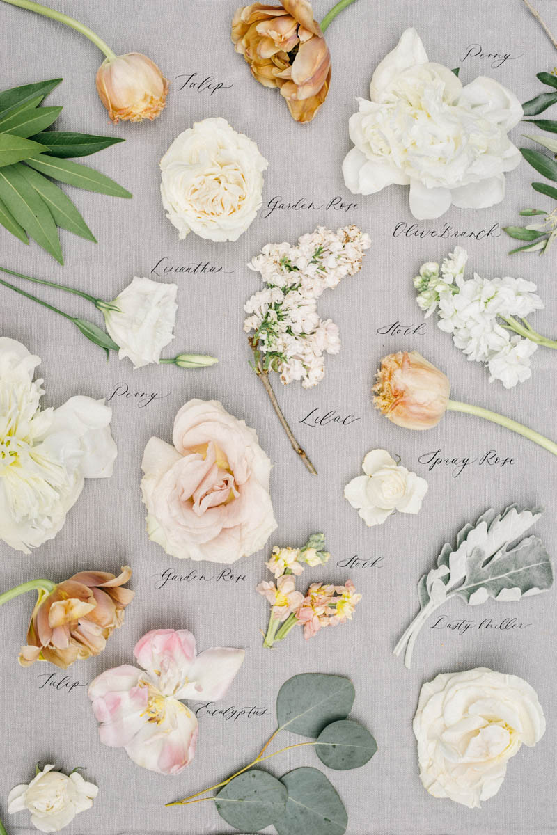 Peony and tulip wedding bouquet preservation