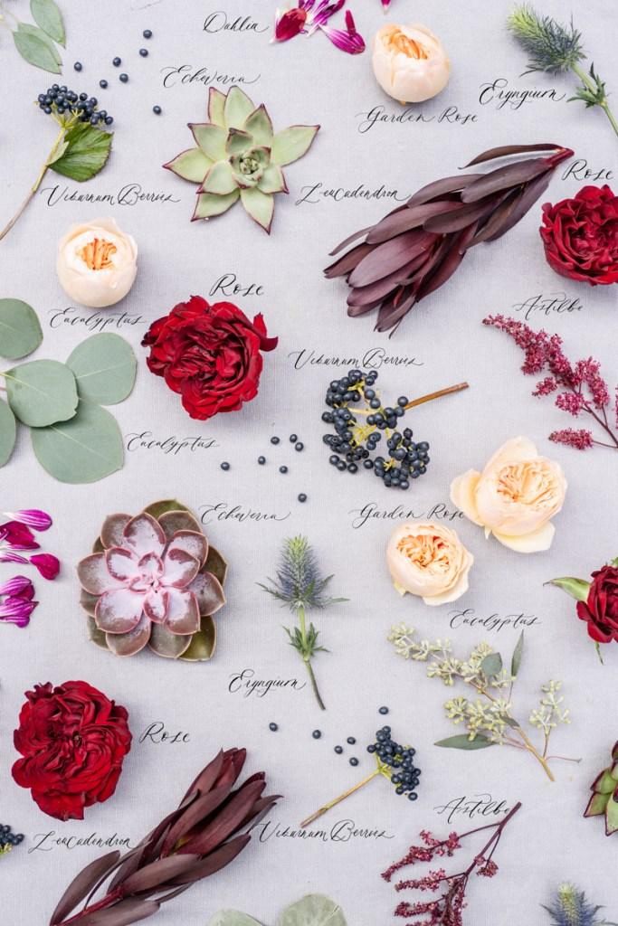 Echeveria wedding bouquet
