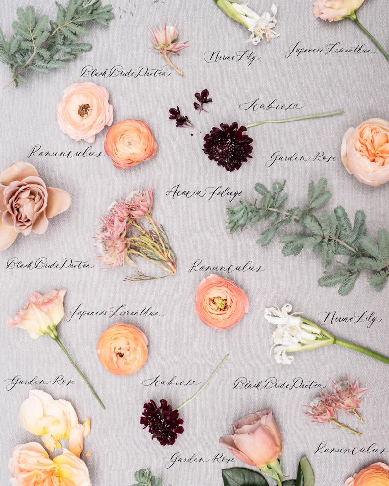 quicksand rose wedding bouquet