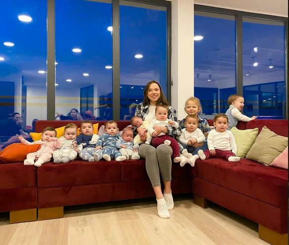 Meet The 23-Year-Old Woman Who Already Has 11 Biological Children And Says She Wants More (Photos)
