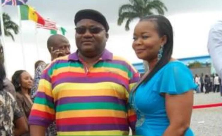 Nollywood Actress Bimbo Oshin's husband Ola Ibironke a.k.a Dudu Heritage is dead