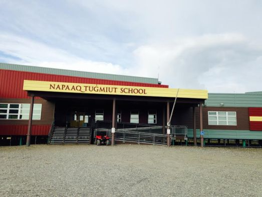 Alaska The school in Noatak