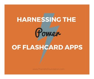 Flashcard apps