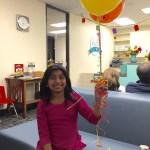 Joahanna and balloons