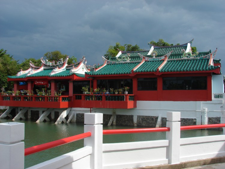 Temple at kusu island