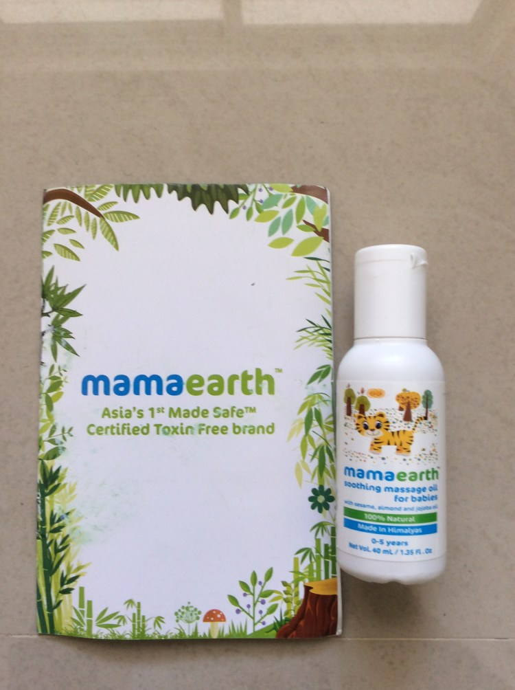 Mama earth baby products