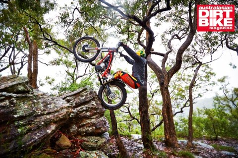 Kyle Middleton aboard the Gas gas Motos 2013 TXT Pro 280 demo. Straight out of the box and getting VERTICAL.
