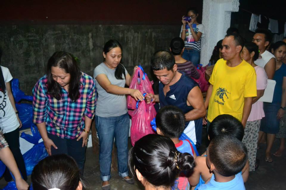 Distribution of Gifts