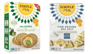 Simple Mills gluten-free crackers; sea salt and jalapeno