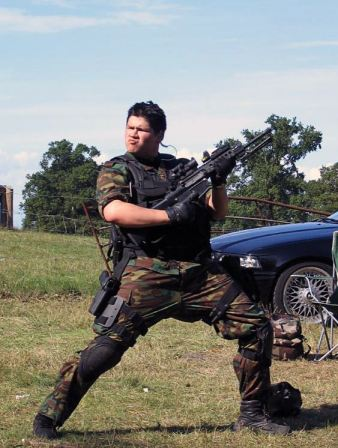 Do you love airsoft as much as this man?