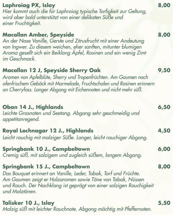 Single Malt Schottland_Scotch6_Macallan Amber Speyside_Royal Lochnagaer Highlands_Talisker Islay