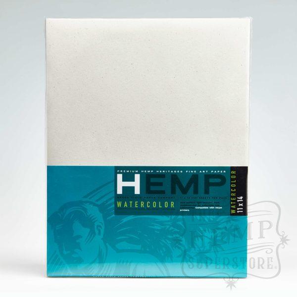 hemp watercolour paper