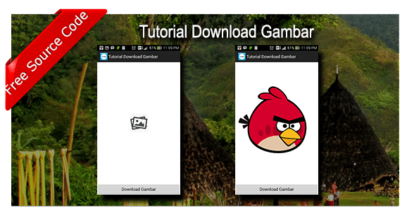 Tutorial Download dan Menampilkan Gambar di ImageView Android