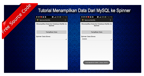 Tutorial Menampilkan Data Dari Database Mysql Ke Spinner Android The Heran