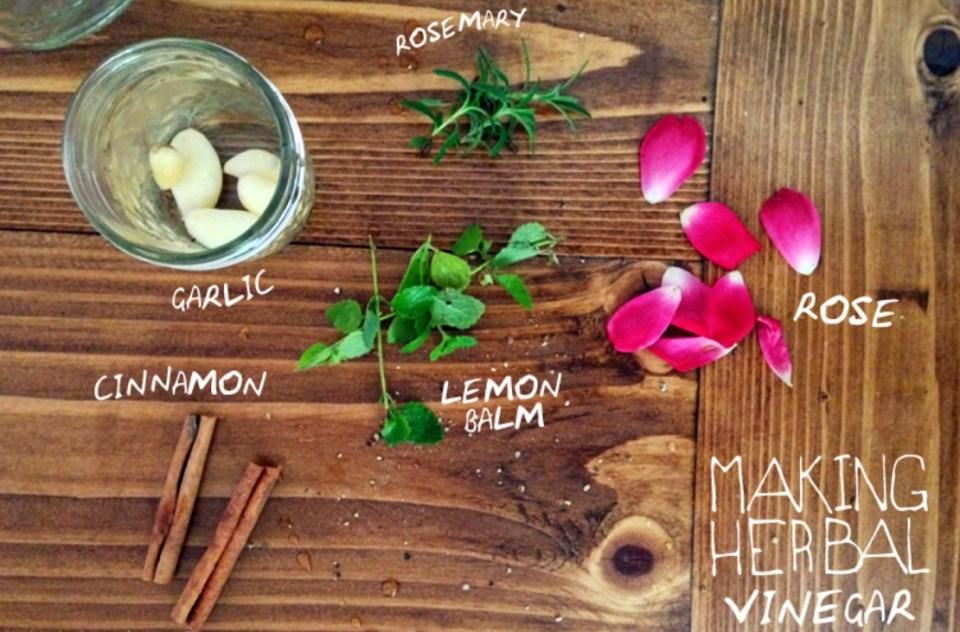 Making-Herbal-Vinegar