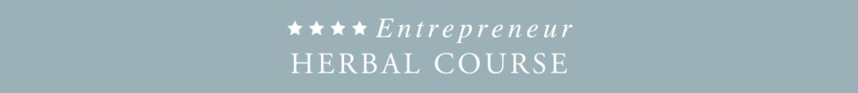 Entrepreneur Herbal Course -banner