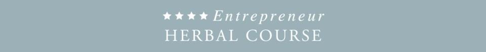 Entrepreneur Herbal Course -banner