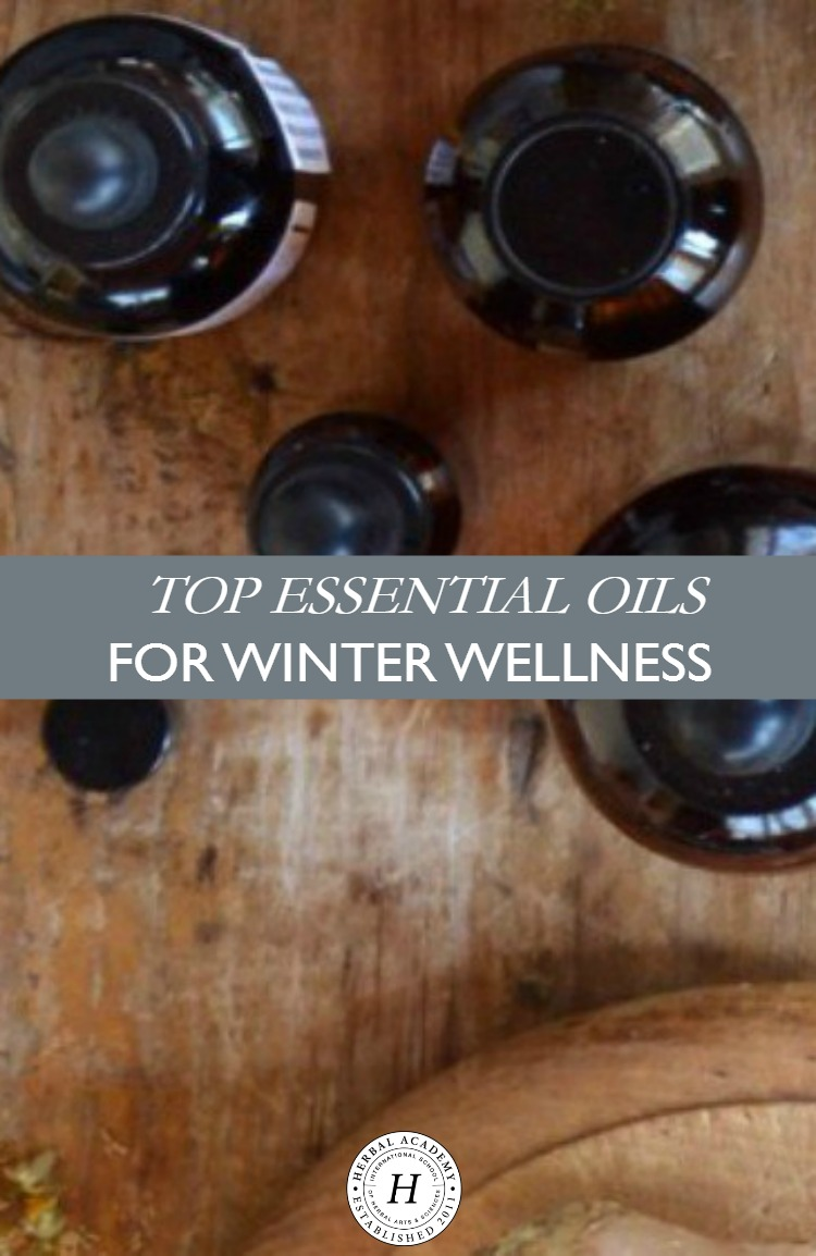 Top Essential Oils For Winter Wellness | Herbal Academy | Wondering what the best essential oils are for the winter season? Here are our top essential oil recommendations for winter wellness!