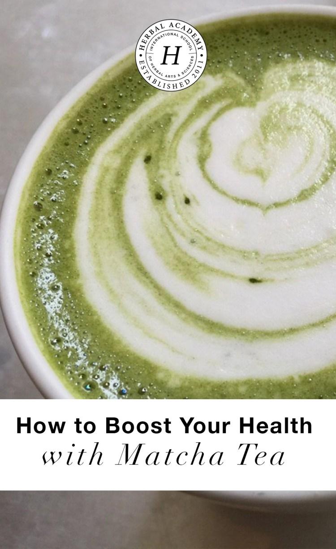 How To Boost Your Health With Matcha Tea |Herbal Academy | Here are 3 recipes to boost your health with matcha tea!