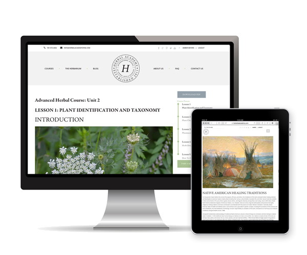 The Advanced Herbal Course lesson preview