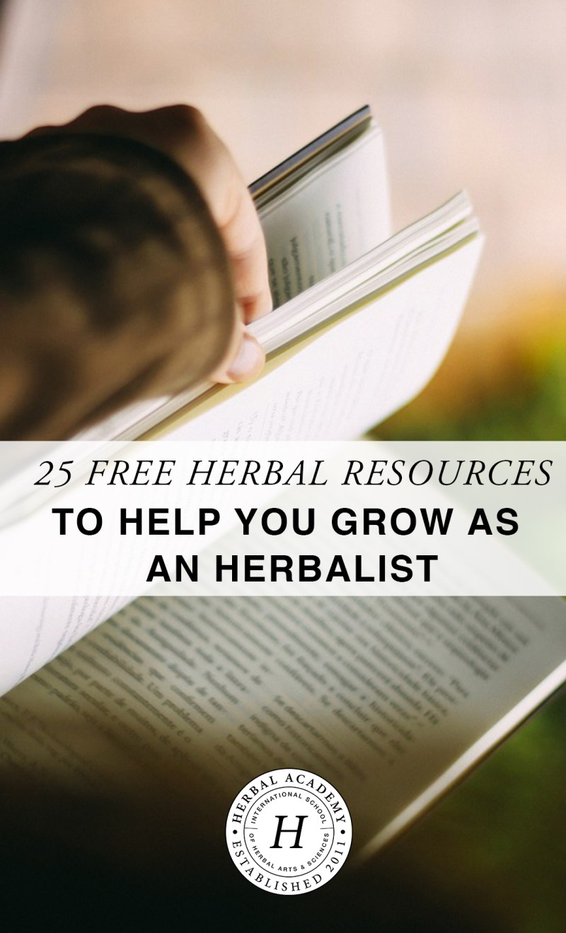 25 free herbal resources to help you grow as an herbalist herbal and be sure to help us out by spreading the word about this free resource by sharing this post on pinterest or your facebook page fandeluxe Choice Image