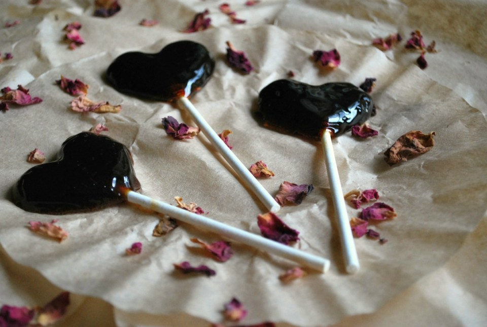 Rose Petal and Rhodiola Valentine's Day Herbal Lollipops | Herbal Academy | Treat yourself to some herbal goodness with these Rose Petal and Rhodiola Valentine's Day Herbal Lollipops!