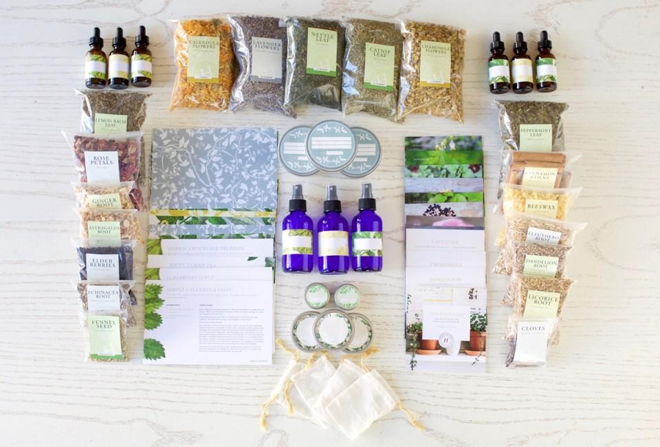 Learning herbs - herbal starter kit
