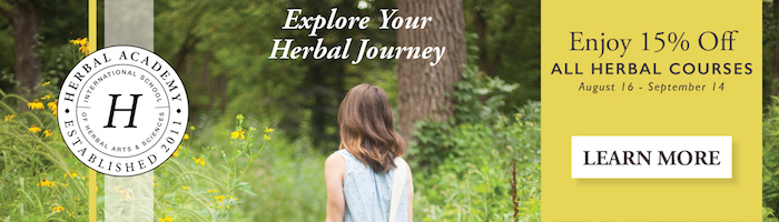 15% Off Courses at the Herbal Academy