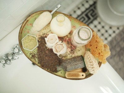 How To Create A Nourishing Milk Bath For Self Care | Herbal Academy | Would you like to create your own oasis of self care? Let us show you how with this relaxing and nourishing milk bath recipe!