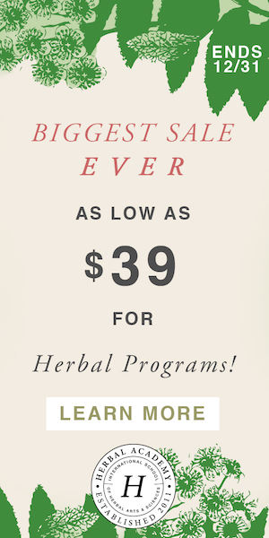 Herbalism Holiday Sale is bigger than ever