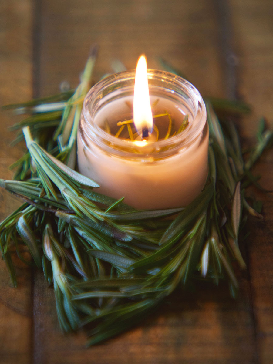 DIY Hand Poured Herbal Candles | Herbal Academy | Are you looking for a simple way to enjoy the ambiance of candlelight without all the chemicals? Try making your own hand poured herbal candles instead!